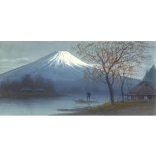 Seki, K: Boatman on Mt Fuji Stream (1) - Ohmi Gallery