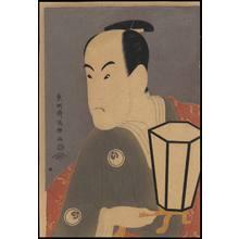 Toshusai Sharaku: Bando Hikosaburo III as Sagisaka Sanai - Ohmi Gallery