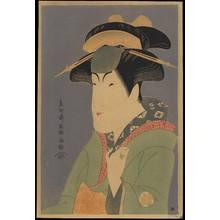 Toshusai Sharaku: Nakayama Tomisaburo as Miyagino - Ohmi Gallery