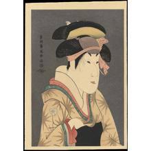東洲斎写楽: Segawa Kikunojo III as Oshizu - 瀬川菊之丞 蔵人妻おしず - Ohmi Gallery