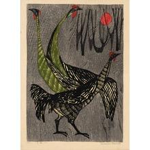 Shima, Tamami: Game Fowl - 軍鶏 - Ohmi Gallery