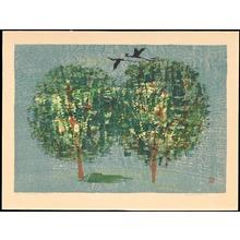 Shima, Tamami: Green Trees - みどりの木 - Ohmi Gallery