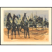 Shima, Tamami: Playing with Horses - 馬と遊ぶ - Ohmi Gallery