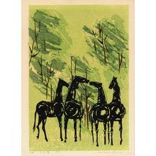 Shima, Tamami: Whispering Horses - ささやく馬 - Ohmi Gallery
