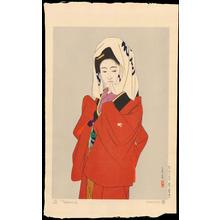 Tatsumi, Shimura: Maihime (Dancing Girl) - 舞姫め - Ohmi Gallery