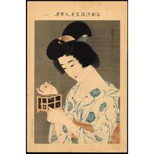 伊東深水: No. 3- Fireflies (1) - Ohmi Gallery
