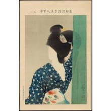伊東深水: No. 11- Behind The Screen (1) - Ohmi Gallery