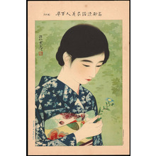 Ito Shinsui: No. 17- Summer Flowers (1) - Ohmi Gallery
