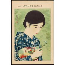 伊東深水: No. 17- Summer Flowers (1) - Ohmi Gallery