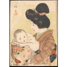 Ito Shinsui: Mother and Child (1) - Ohmi Gallery