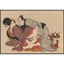 Kitagawa Utamaro: Untitled shunga print (1) - Ohmi Gallery