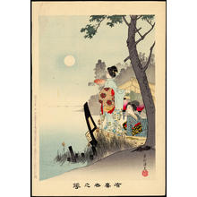 Miyagawa Shuntei: Pleasure Boat Ride in Summer (1) - Ohmi Gallery
