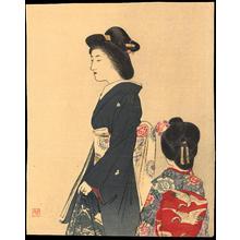 Suzuki, Kason: Mother and Daughter (1) - Ohmi Gallery
