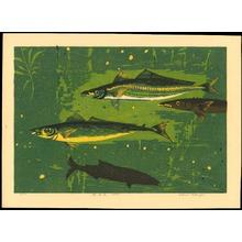 Takagi, Shiro: Playing Fish B - Ohmi Gallery