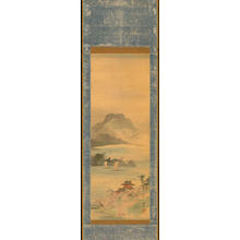 Watanabe Shotei: Bay Landscape in Spring - 湾山水図 (1) - Ohmi Gallery