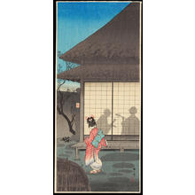 Watanabe Shotei: Tea Pavilion in the Night - 夜の寮 - Ohmi Gallery