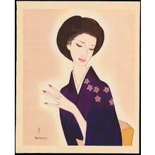 Takasawa Keiichi: The Woman Of The 7th District - 七丁目の婦人 - Ohmi Gallery