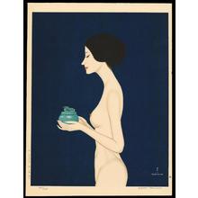 Takasawa Keiichi: Woman Burning Incense - 香を焚く女 - Ohmi Gallery