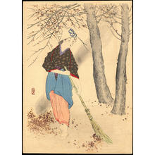 Takeuchi Keishu: Bijin In Autumn (1) - Ohmi Gallery