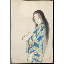 Takeuchi Keishu: Bijin Under the Moon - 月下美人 - Ohmi Gallery
