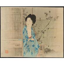 武内桂舟: Bijin by Genkan - Ohmi Gallery