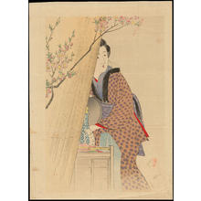 Takeuchi Keishu: Bijin by Her Dutchess (1) - Ohmi Gallery