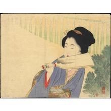 武内桂舟: Hagoita (Battledore) - 羽子 - Ohmi Gallery