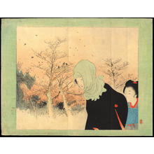 Terazaki, Kogyo: Crimson Glow of an Old Forest (1) - Ohmi Gallery