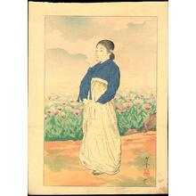 Terazaki, Kogyo: Manchuria Flower - 満州の花 - Ohmi Gallery