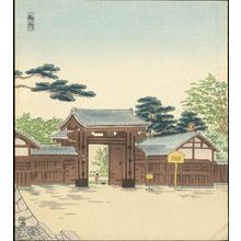 Tokuriki Tomikichiro: Kyoto Gosho - 京都御所 - Ohmi Gallery