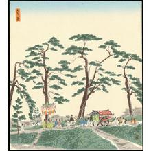 Tokuriki Tomikichiro: Aoi Festival - 葵祭 - Ohmi Gallery