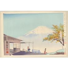Tokuriki Tomikichiro: No. 19- Clear Autumn Weather at Otome Pass - 乙女峠の秋晴 - Ohmi Gallery