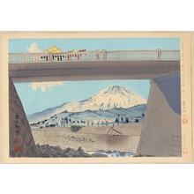徳力富吉郎: No. 28- Suruga Fujimibashi - 駿河富士見橋 - Ohmi Gallery