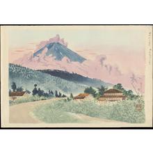 徳力富吉郎: Mt Fuji from the Koshu Road - 甲州路の富士 - Ohmi Gallery