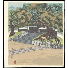 徳力富吉郎: Sanjo Awataguchi Shoren-In - 三条粟田口青蓮院 - Ohmi Gallery