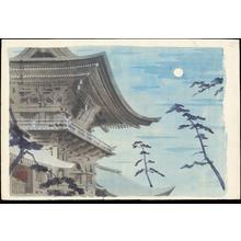 Tokuriki Tomikichiro: Chikuzen Hakosakigu Shrine - 筑前筥崎宮 - Ohmi Gallery