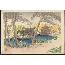 徳力富吉郎: Kyoto Kinkakuji Temple - 鹿苑寺 金閣 - Ohmi Gallery