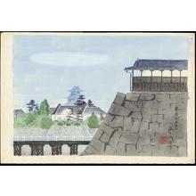Tokuriki Tomikichiro: Hiroshima Daihonei - 広島大本営 - Ohmi Gallery