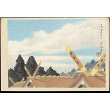 Tokuriki Tomikichiro: Huga Miyazaki Jingu Shrine - 日向宮崎神宮 - Ohmi Gallery