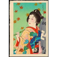Torii Kiyomitsu: Autumn - 秋 - Ohmi Gallery