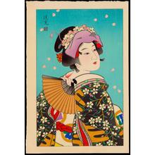 Torii Kiyomitsu: Flower - 花 - Ohmi Gallery