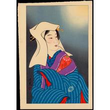 Torii Kiyomitsu: Moon - 月 - Ohmi Gallery