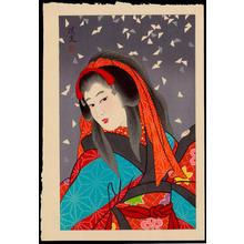 鳥居清満: Snow - 雪 - Ohmi Gallery