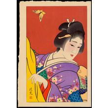 Torii Kiyomitsu: Spring - 春 - Ohmi Gallery