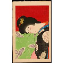 Torii Kotondo: A Nap (Utatane) - うたっ寝 - Ohmi Gallery