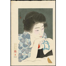 Torii Kotondo: Morning Hair - 朝寝髪 - Ohmi Gallery