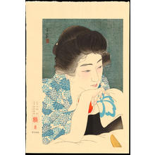 Torii Kotondo: No. 4 - Morning Hair - 朝寝髪 - Ohmi Gallery