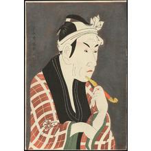 東洲斎写楽: Koshiro Matsumoto IV as Sakanaya Gorobee - 松本幸四郎の肴屋五郎兵衛 - Ohmi Gallery
