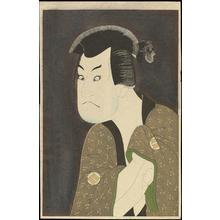 東洲斎写楽: Sakata Hangoro III As The Villian Fujikawa Mizuemon - 坂田半五郎の藤川水右衛門 - Ohmi Gallery