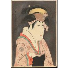 Toshusai Sharaku: Segawa Kikunojo III as Oshizu - 瀬川菊之丞 蔵人妻おしず - Ohmi Gallery